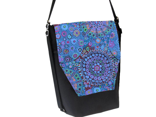 Convertible Backpack Bag -  Murano Glass Fabric