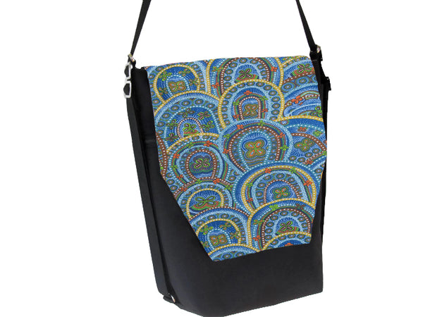 Convertible Backpack Bag -  Butterfly Rebirth Fabric