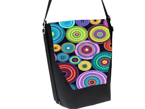 Convertible Backpack Bag -  Northern Lights Fabric