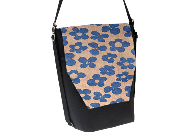Convertible Backpack Bag -  Blue Bayou Fabric