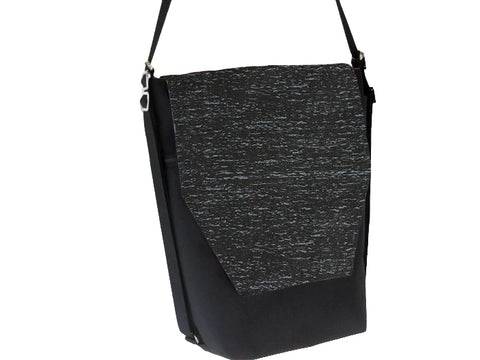 Convertible Backpack Bag -  Midnight Rain Fabric