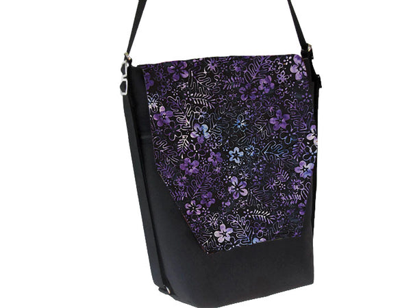 Convertible Backpack Bag -  Midnight Majesty Fabric