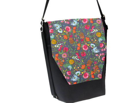 Convertible Backpack -  Love Blooms Fabric