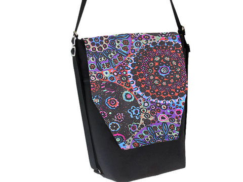 Convertible Backpack Bag -  Stary Night Fabric