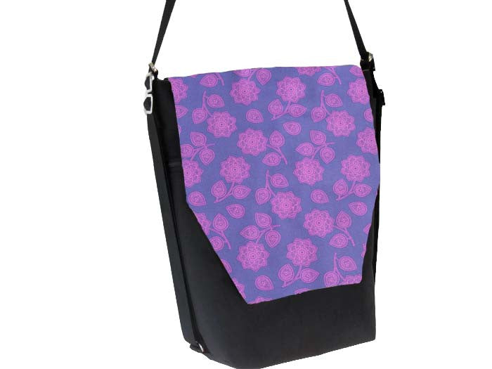 Convertible Backpack -  Purple Haze Fabric