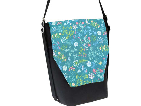 Convertible Backpack Bag -  Flora Fabric