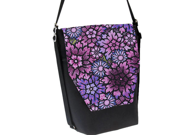 Convertible Backpack -  Purple Passion Fabric