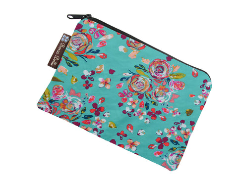 Take Along Bags - Bountiful Teal Fabric