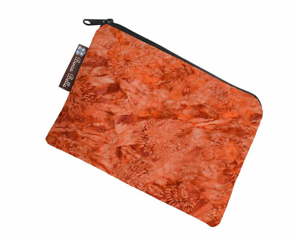 Catch All Zippered Pouch - Marmalade Fabric
