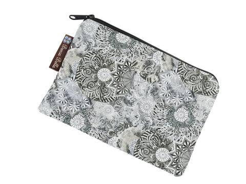 Take Along Bags - Spirograph Gray Fabric