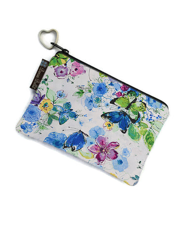 Catch All Zippered Pouch - Buttery Bliss Fabric