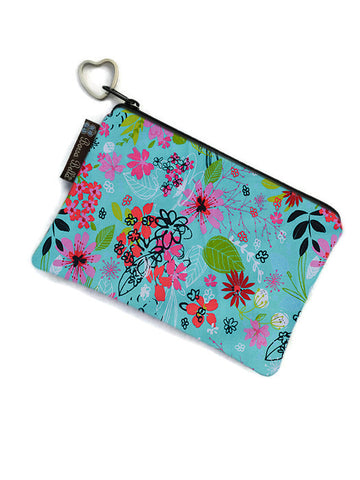 Catch All Zippered Pouch - 3 Wishes Fabric