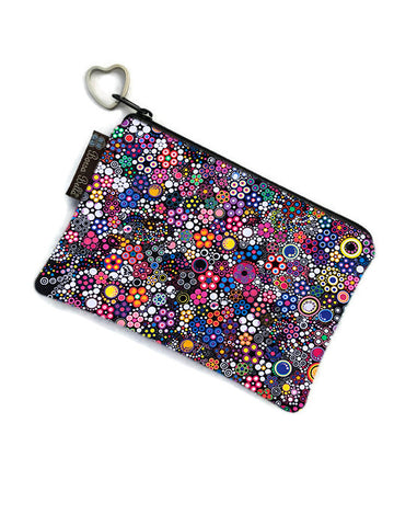 Copy of Catch All Zippered Pouch - Glorius Dots Fabric