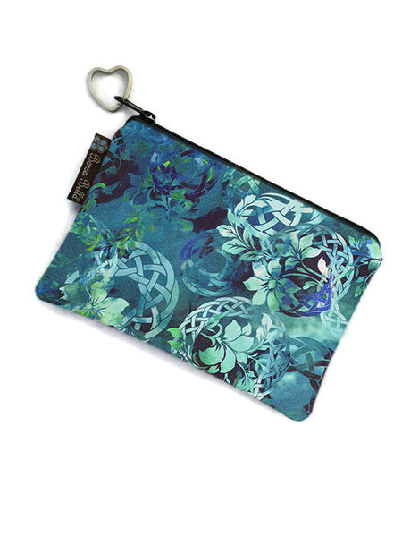 Catch All Zippered Pouch - Emerald City Fabric