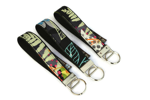 Keychain Wristlets -   Nightfall Fabric