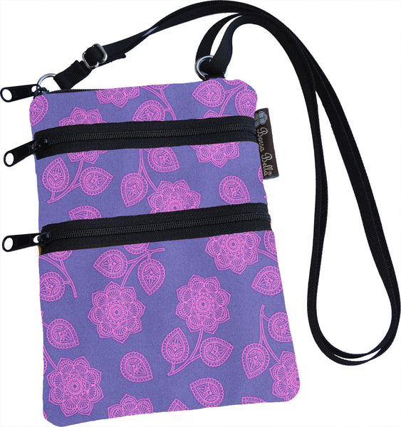 Ella Bella Purse Small Cross Body Purse - Purple Haze Fabric