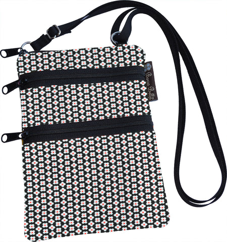 Ella Bella Purse Small Cross Body Purse - Daisey Dots Fabric