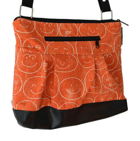 Clearance Hobo Purse Cross Body - Shoulder Bag - Expressions Fabric