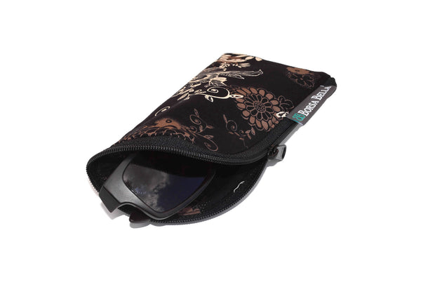 Sunglass Cases - Black Beauty Fabric