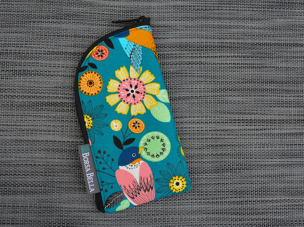 Sunglass Cases - Canvas Garden Party Glass