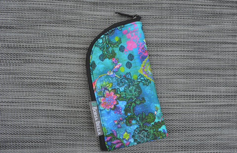 Sunglass Cases - Bella Blue Fabric