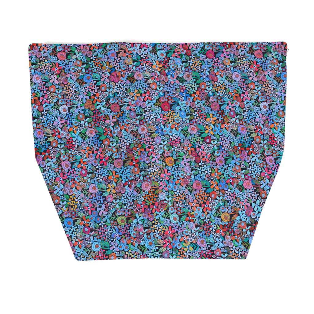FLAP for Large Messenger Bag - Mini Wild Flowers Fabric