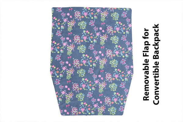 Convertible Backpack Flaps - Tinies Fabric