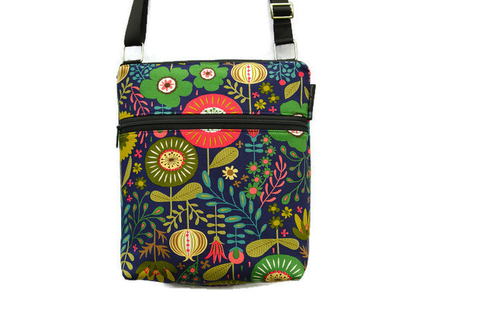 Copy of Borsetta Cross Body - Shoulder Bag - Garden Variety Fabric