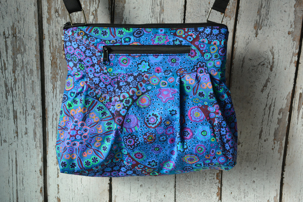 Hobo Purse Cross Body - Shoulder Bag - Murano Glass Fabric
