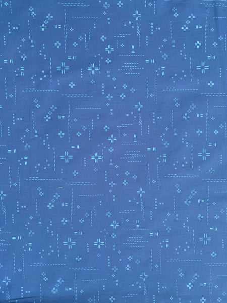 New Design - The Ariel - Bright Blue Fabric