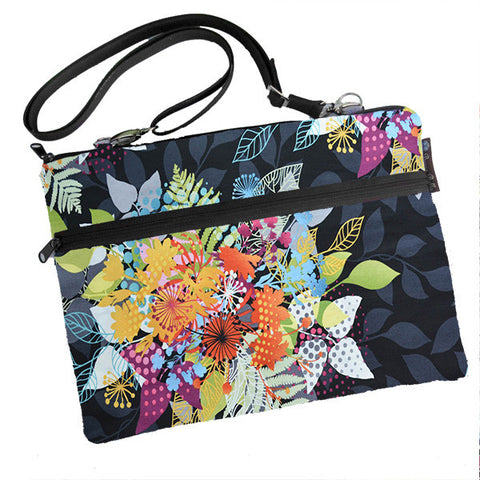 Laptop Bags - Shoulder or Cross Body - Adjustable Nylon Straps - Nightfall Fabric