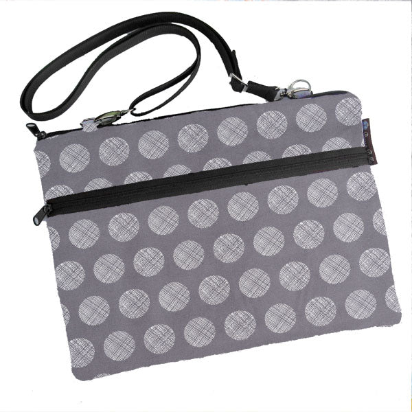 Laptop Bags - Shoulder or Cross Body - Adjustable Nylon Straps - Graphite Greatness Fabric
