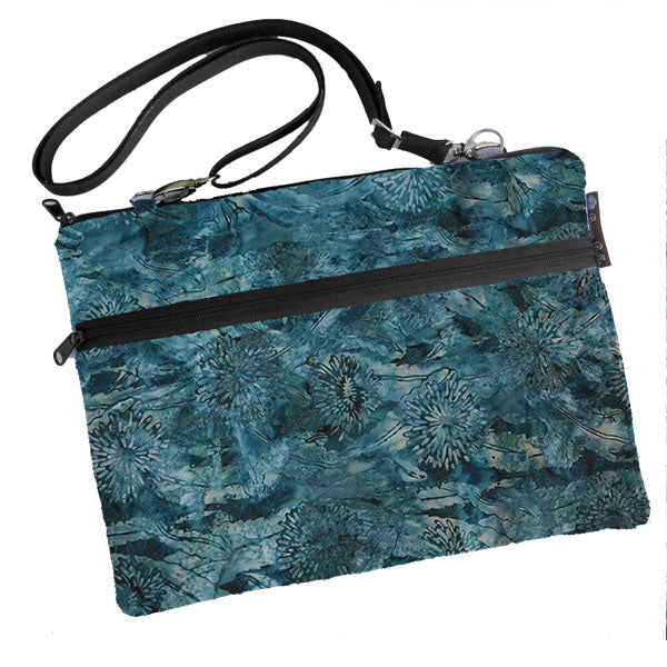 Laptop Bags - Shoulder or Cross Body - Adjustable Nylon Straps - Serenity Fabric