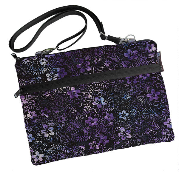 Laptop Bags - Shoulder or Cross Body - Adjustable Nylon Straps - Midnight Majesty Fabric