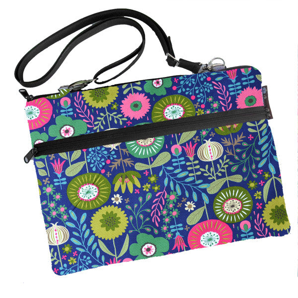 Laptop Bags - Shoulder or Cross Body - Adjustable Nylon Straps - Garden Variety Fabric