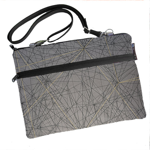 Laptop Bags - Shoulder or Cross Body - Adjustable Nylon Straps - Tight Rope Fabric