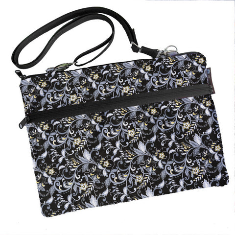 Laptop Bags - Shoulder or Cross Body - Adjustable Nylon Straps - Nightingale Fabric