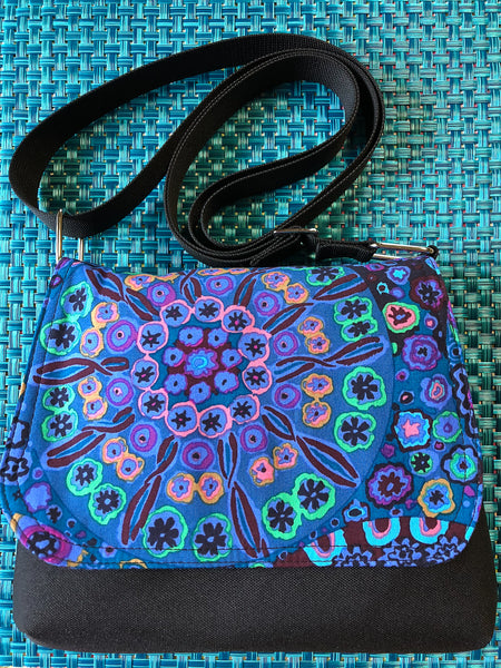 Itsy Bitsy Messenger Purse - Murano Glass Fabric