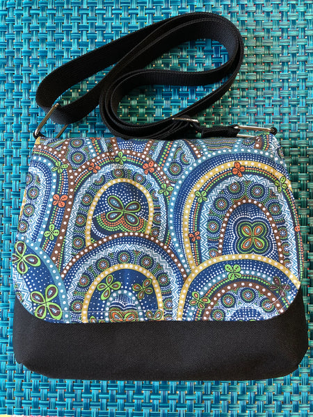 Itsy Bitsy Messenger Purse - Butterfly Rebirth Fabric