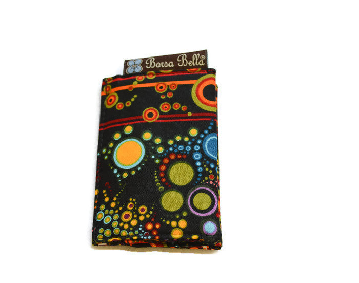 Card Holder RFID Protected -  Happy Boarder Fabric