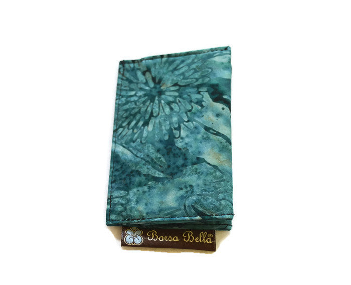 Card Holder RFID Protected -  Serenity Fabric