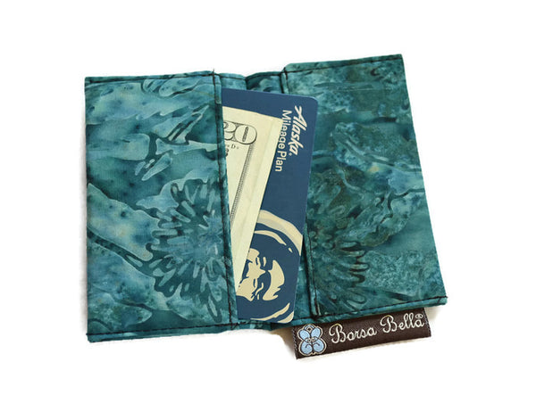 Card Holder RFID Protected - Caribbean Boarder Fabric