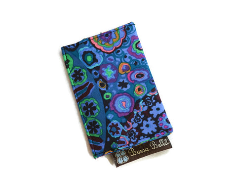Card Holder RFID Protected - Murano Glass Fabric