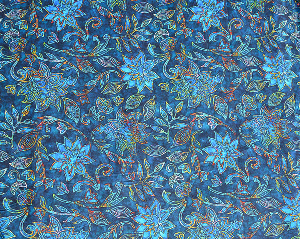 New Design - The Ariel - Electric Blue Fabric