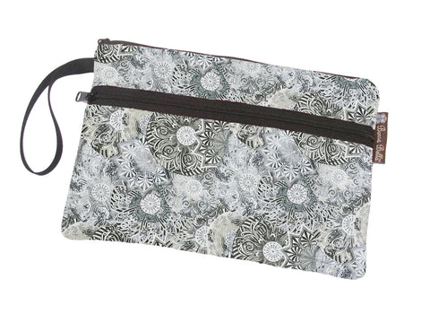 Deluxe Take Along Bags - Spirograph Gray Fabric