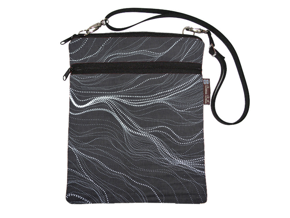 Travel Bags - Cross Body - Star Trails Fabric