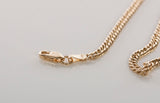 18K Yellow Gold Curb Link Bracelet 7 1/2""