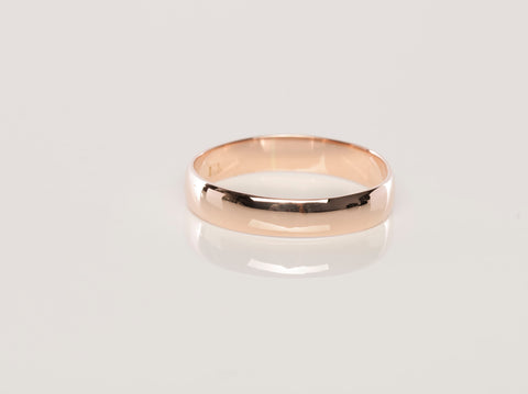 18K Rose Gold Wedding Band / Ring