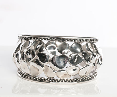 "Authentic Micheal Dawkins ""Petal"" Cuff Bracelet"