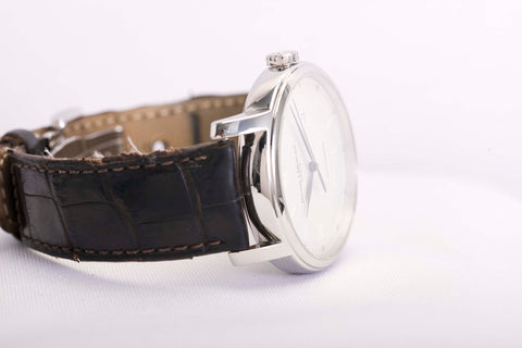 Baume & Mercier watch with white dial at posh pawn shop